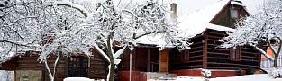 Chata Husárik v zime